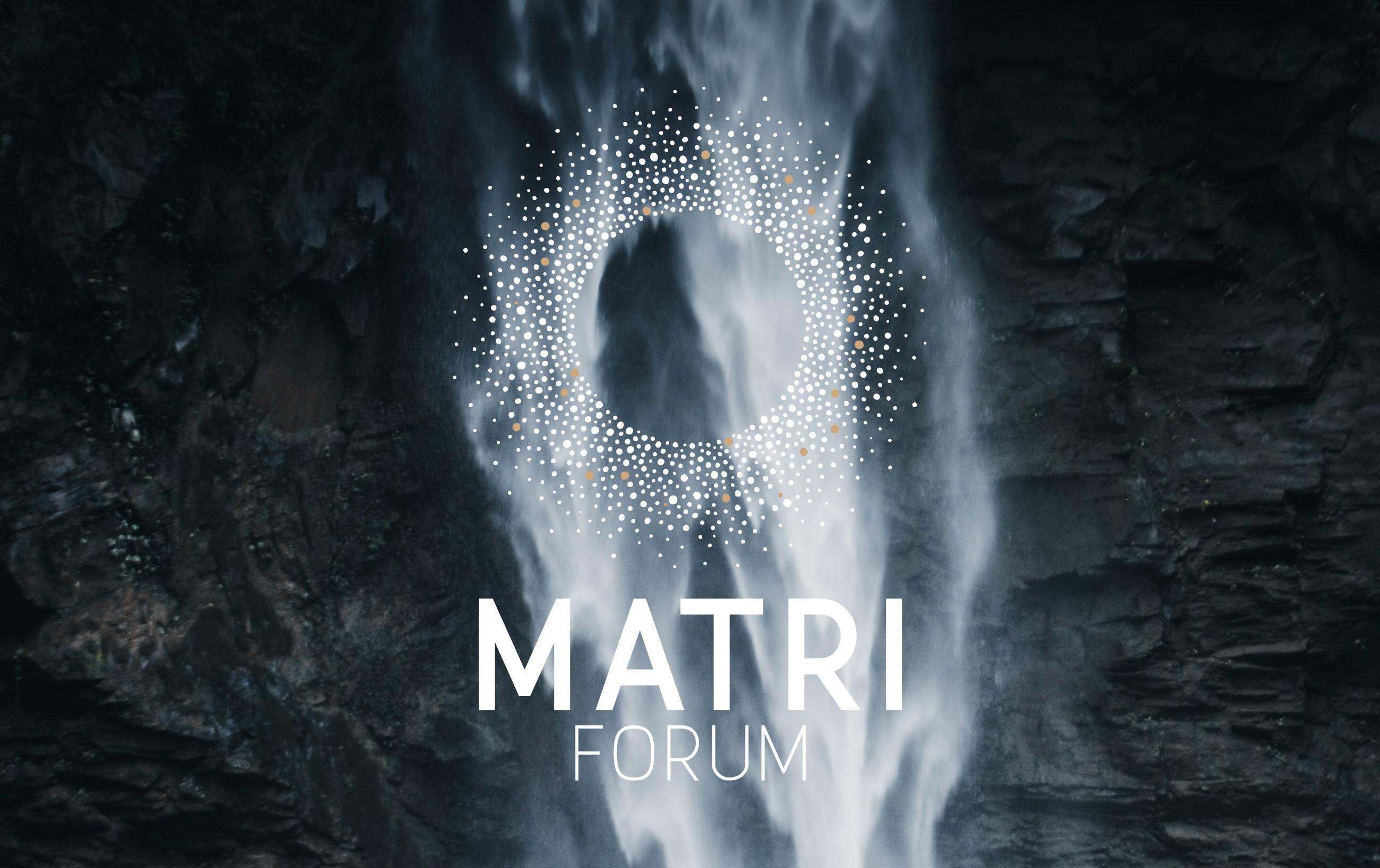 Matriforum waterfall