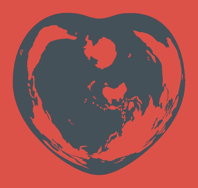 Logo Hagia Hintergrund rot